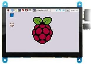 SainSmart 5 Inch Capacitive Touch Screen 800x480 HDMI Display with OSD Menu for Raspberry Pi 3 B+ & Black Banana Pi & Xbox360 & PS4