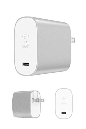 Belkin USB充電器 iPhone / iPad / Androidスマホ各種対応 USB-C 27W 急速充電 BOOST CHARGE F7U060DQ-SLV-A