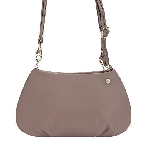 Pacsafe Citysafe Cx Small Crossbody Anti Theft Small Crossbody Bag (Blush Tan)