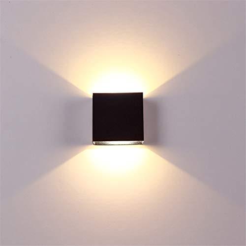 RONSHIN Hot Verstelbare 6W LED wandlamp AC85-265V COB waterdichte aluminium kubus buiten veranda wandlamp