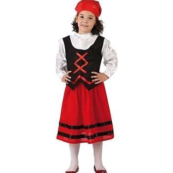 Atosa - Disfraz de pastora rojo y negro, t1: Amazon.es: Juguetes y ...