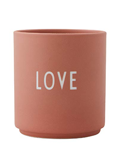 Design Letters - Favourite beker - Love - Mok - Bone China porselein - Ø 8 cm x H: 8,5 cm - Vaatwasmachinebestendig