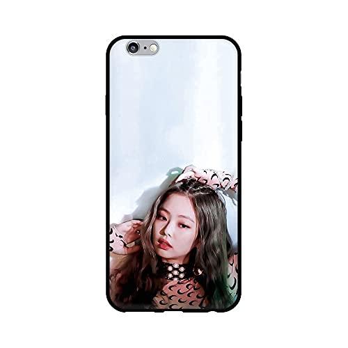 通用 Blackpink Huawei P Smart 2018 Funda Carcasa Silicona Suave Case Cover TPU Protectora Lisa Rose Jennie JISOO para Huawei P Smart 2018 / Huawei Honor 9 Lite (BP6)