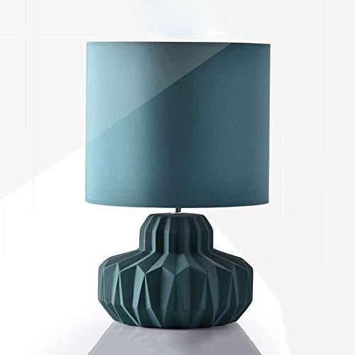 Maonb E14 Drukschakelaar, dimbaar, LED, warm licht, inklapbaar, voor woonkamer, slaapkamer, tafel, keramiek, sober, bedlampje