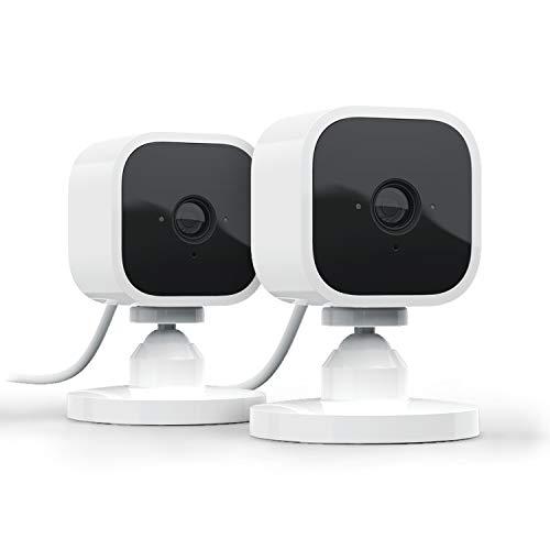 Découvrez Blink Mini, Caméra de surveillance d'intérieur connectée, compacte, qui se branche...