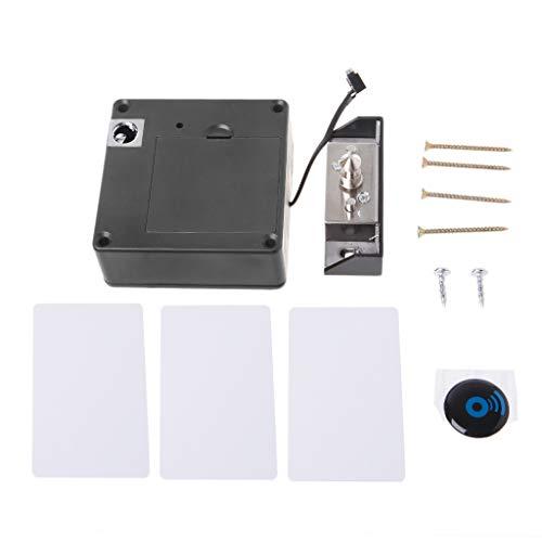 Storage Bag Cabinet Lock, RFID Locks Kit Battery Electronic Sensor Locker, DIY Keyless Hidden Locks for Cabinets Drawer Door