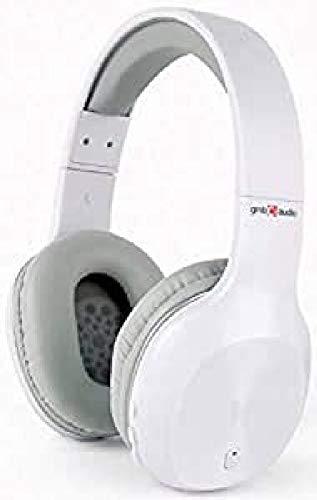 Gembird BHP-MIA-W Miami Bluetooth® Over Ear Kopfhörer Over Ear Headset Weiß