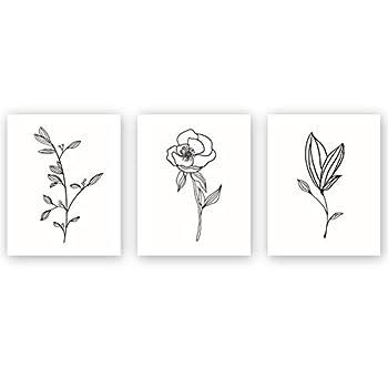 Best line art flowers Reviews