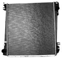TYC 2342 Compatible with Ford Explorer 1-Row Plastic Aluminum Replacement Radiator