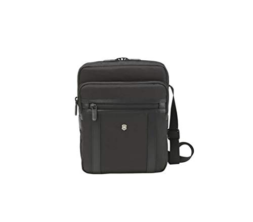 Victorinox Werks Professional 2.0 Crossbody Tablet Bag, Black, 10.6-inch