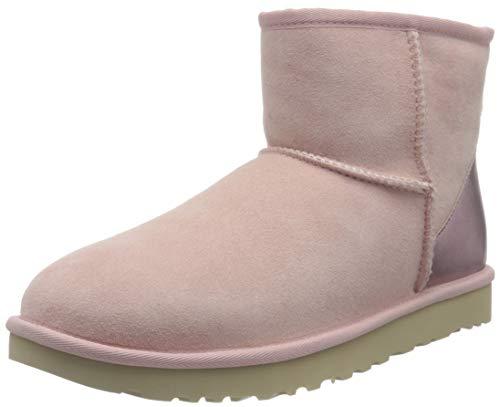 UGG Damen CLASSIC MINI II METALLIC Klassische Stiefel, Rosa Wolke, 39 EU