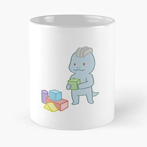 Machoke Machamp Shield Type Builder Fighting Baby Monster Machop Toy Sword And I FSGprint- New and trendy design for 11oz White marble ceramic coffee mug