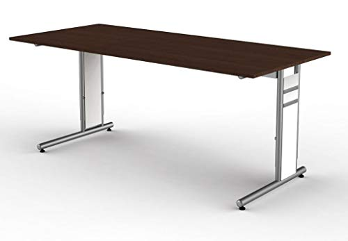 kerkmann 4122 Anbau-Schreibtisch Form 4, wenge
