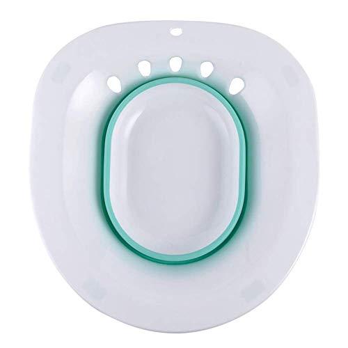 Asseny Faltbar Bidet Waschbecken Hemorrhoidal Erleichterung Schwanger Damen Mutterschaft Hip Reinigung Vermeiden Heben - Grün