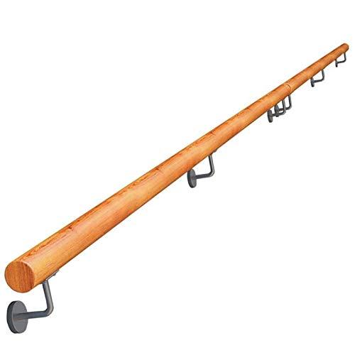 KUNYI Anti-Rutsch-Treppenhandlauf, Massivholz-Starke Tragfähigkeits Anti-Skid Geeignet for Bar Treppe Korridor Mall (Size : 47 inches)