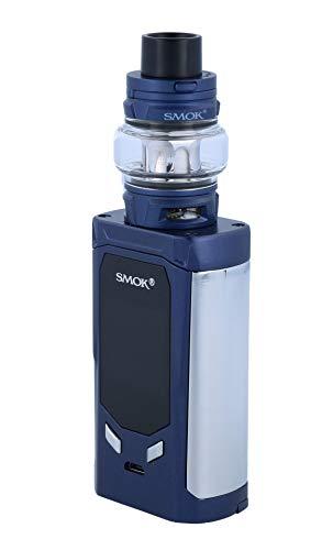 Smok R-Kiss E Zigarette Set | R-Kiss 200 Watt | TFV8 Baby V2 Verdampfer | 2x Baby V2 Heads - Farbe: blau-prisma