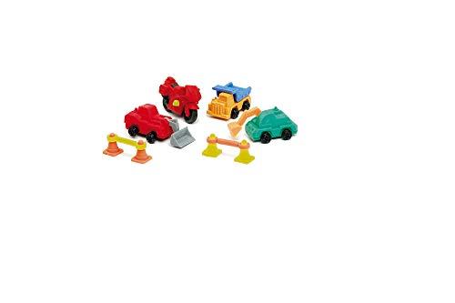 Pack bolsa 5 gomas de borrar puzzle desmontables construcción