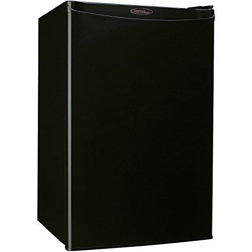 Danby Designer DCR044A2BDD Compact Refrigerator, 4.4-Cubic Feet, Black