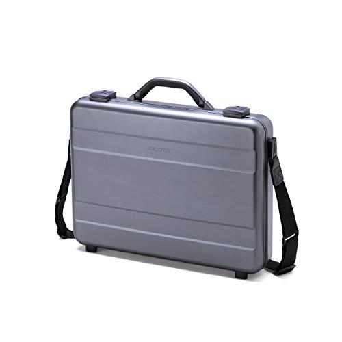 Dicota D30589 Alu Briefcase für Notebook bis 43,9cm (17,3 Zoll) silber