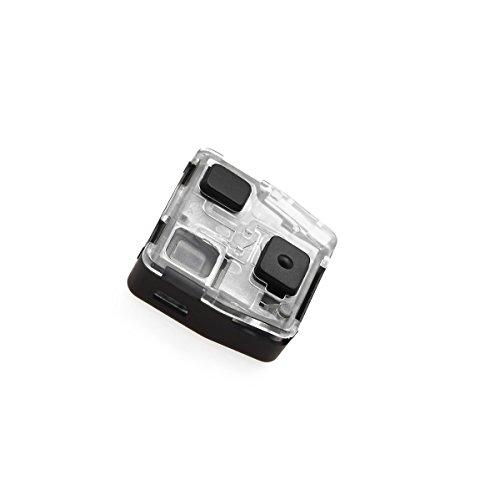 JONGO - Coque de Clé sans Lame Compatible avec Toyota Yaris, Rav4, Land Cruiser, Avensis, Corolla | Boitier Clef Plip Voiture Utilitaire Télécommande 2 Boutons