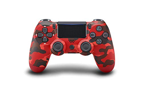 Controllers for PS4,Wireless Joystick Gamepad for PS4 Controller with Dual Vibration and USB Charging Cable -Red Camouflage
