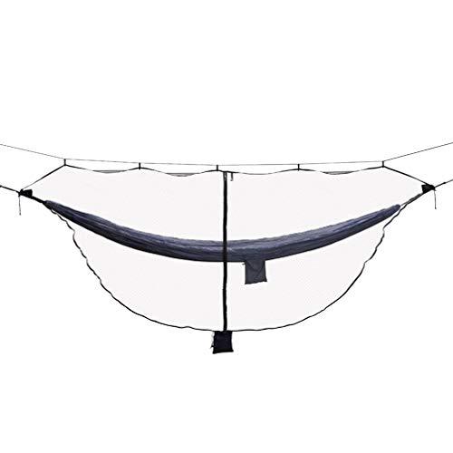 Garneck Dubbele Camping Hangmat Netto Draagbare Hangmat Netto Lichtgewicht Hangmat Netto Tent voor Backpacking Reistuin Outdoor