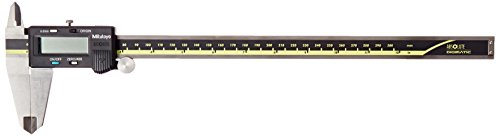 Mitutoyo 500-193 Absolute Digital Caliper, Stainless Steel, Battery Powered, Inch/Metric, 0-12' Range, -0.0015' Accuracy, 0.0005' Resolution