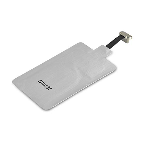 Olixar Wireless Charging Receiver - Ultra Thin Qi Wireless Charging Adapter - Universal Fit Compatible with All USB-C Smartphones and Devices - Case Friendly - Easy to Use