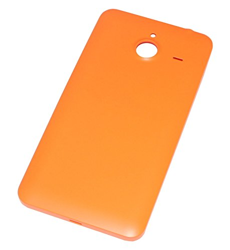 Copribatteria originale per Microsoft Lumia 640 XL LTE dual sim, colore: arancione