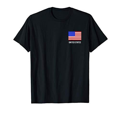 Bandera Americana de los Estados Unidos Camiseta