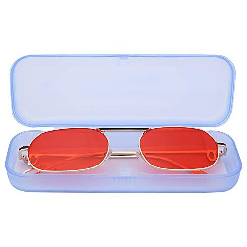 CHICIRIS Gafas de Sol, Muestra tu Temperamento Gafas de Sol Vintage Diseño cómodo para la Familia para el hogar