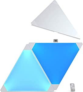 Nanoleaf Aurora Expansion Pack - Paneles modulares de iluminación inteligentes, color blanco