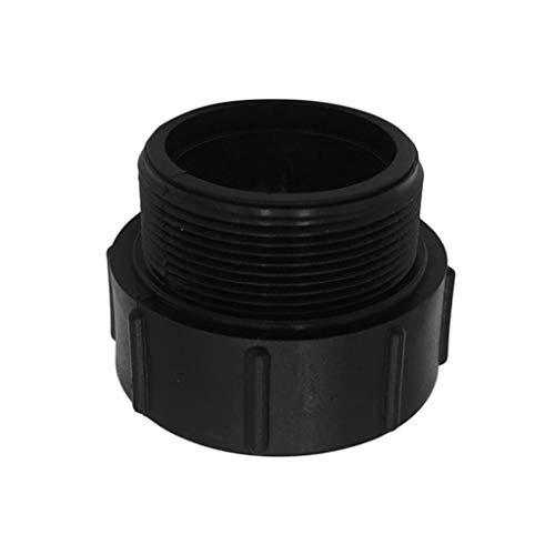 F Fityle 2 Zoll IBC-Adapter Konvertiert Grobe Männliche Butterspitze S60 x 6 Für IBC1000L Container - S60 x 6