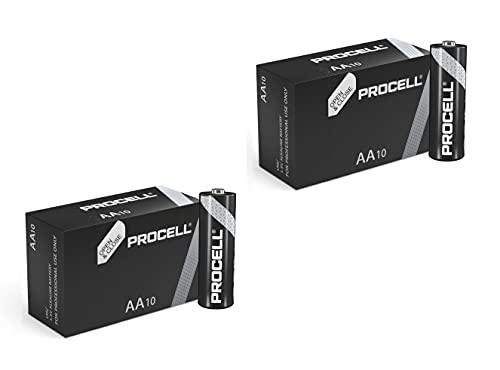 Duracell 20 X AA batteria alcalina Industrial