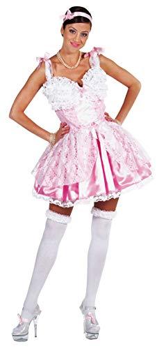 M210121-S rosa Damen Prinzessinenkleid Barockkostüm Gr.S