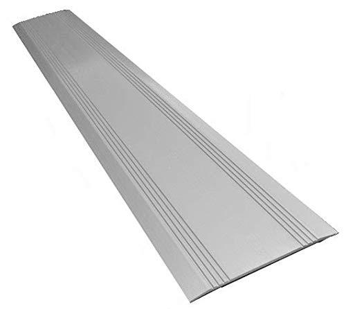 HomeCare Innovation Türchwellenprofile Alu | Schwellenprofil Aluminium | Aluminiumprofil (3 x 175 x 1000 mm)