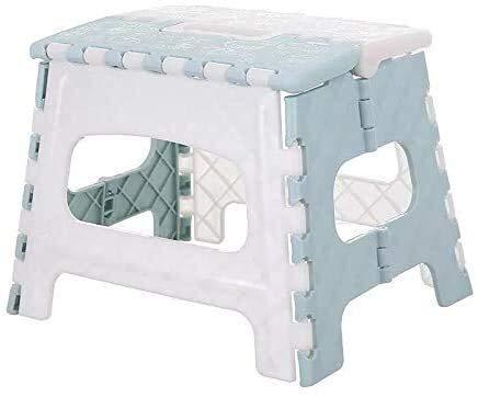 Lanrui Pesca en sillas Plegables Silla portátil de Camp Taburete de plástico for Acampar al Aire Libre Senderismo Picnic en la Playa Sillas de baño Taburete de Paso