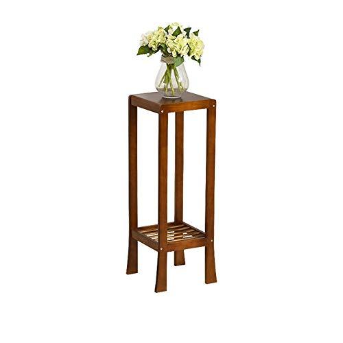 CZWYF Blumentopfständer Pflanzenständer Massivholz Blumenständer Chinesischer Antik Bonsai Multi-Layer / (Höhe: 23,6 Zoll, 29,5 Zoll, 35,4 Zoll) (Color : B, Size : 90cm)