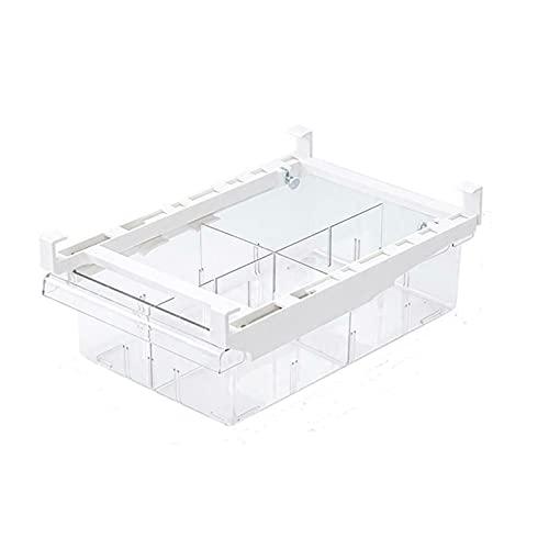 PANCHEN Transparenter Kühlschrank Organizer Bin Aufbewahrungsbox Kompartiment Kühlschrankschublade Kühlschrank Lagerbehälter Container Pantry Gefrierschrank (Color : A)