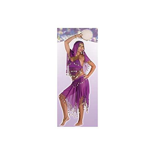Disfraces Josman - Disfraz mujer bailarina oriental rojo adulto talla 44