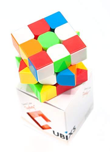 CUBIXS® Zauberwürfel 3x3 - Typ Sydney - ohne Sticker - Speedcube 3x3x3 mit optimierten Eigenschaften für Speed-Cubing - Magic Cube für Anfänger und Fortgeschrittene