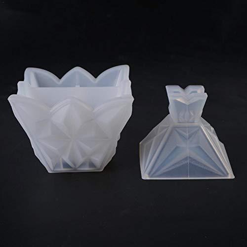 Makluce 2020 handgemaakte creatieve DIY diamant bewaardoos silicone vorm voor de productie van kerstboom of cadeau