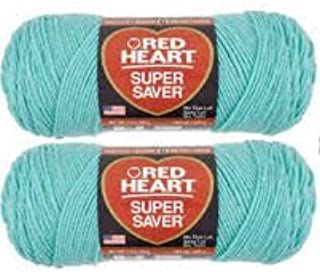 Bulk Buy: Red Heart Super Saver (2-pack) (Aruba Sea)