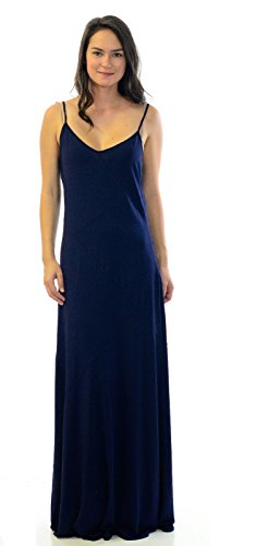 Juicy Couture Women's Seamed Maxi Dress in Regal, Small