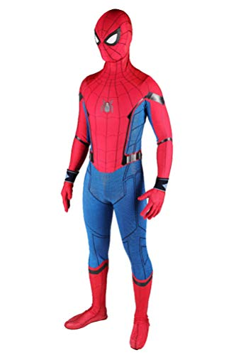 Cosplay Adult Onesie Costume Full Bodysuit Unisex Superhero Spandex Dress Up Suit 3XL