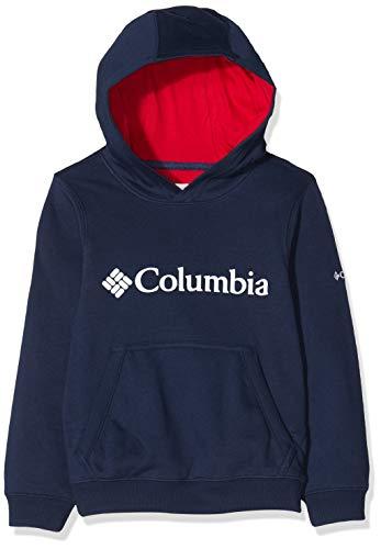 Columbia CSC Basic Logo Youth Sudadera con Capucha, Niños, Azul Marino, Small