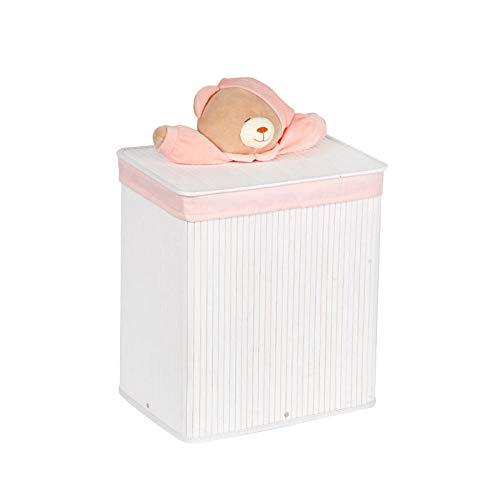 Cesta de lavandería trenzada de bambú para ropa sucia, cesta de ropa sucia, cesta de almacenamiento de ropa sucia, cesta rectangular para ropa sucia, cesta tejida