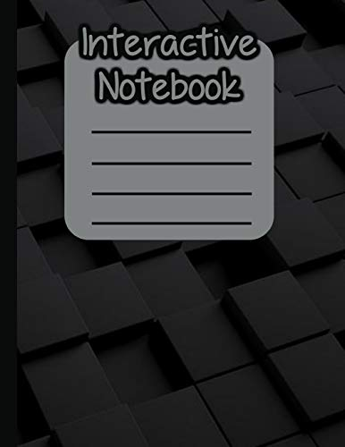 Interactive Notebook: INB Template Composition Book: Table of Contents, Numbered Pages, Sketch Paper (left output), Wide Ruled Paper (right input) and ... 8.5 x 11 Softcover Doodle Notes Writing Pad.