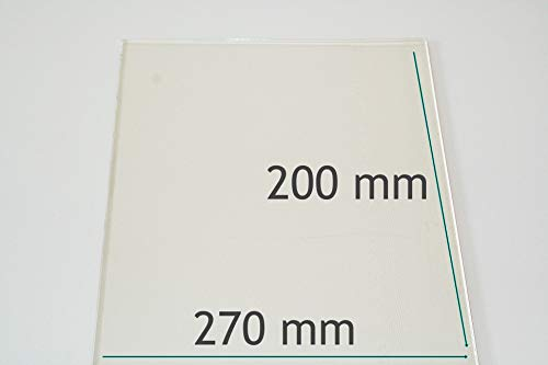 500 mm x 500 mm Klarglas 4 mm stark Glasplatte//Glasregal alle Ma/ße lieferbar