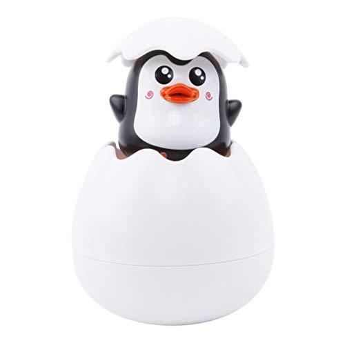 Toporchid Baby Badespielzeug Ente Pinguin Ei Wasserspray Sprinkler Badezimmer Dusche Schwimmen Wasserspielzeug (Stil 2)